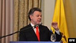 El presidente de Colombia, Juan Manuel Santos. Foto de archivo.
