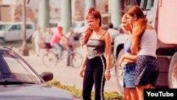 Prostitutas menores de edad en Cuba.