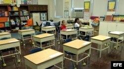 Alumnos de escuela primaria en Nueva Orleans, Luisiana, Estados Unidos. ,