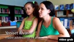 Una imagen del video de UNFPA sobre la prevención del embarazo en la adolescencia.