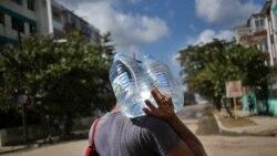 UNICEF envía tabletas a Cuba para purificar el agua