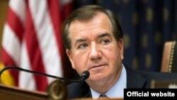Ed Royce, presidente del Comité de Asuntos Exteriores de la cámara baja.