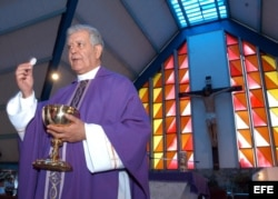 El cardenal Jorge Urosa.