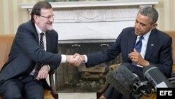 """Obama cree que el """"liderazgo"""" de Rajoy a estabilizado la economía española"""