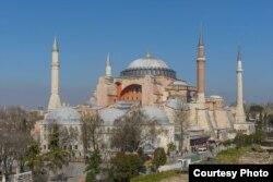 La catedral de la Divina Sabiduría en Estambul, conocida como Santa Sofía, fue escenario del Cisma de la Iglesia.