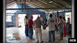 Atacan casa culto con orden de demolición en Sancti Spíritus