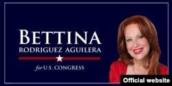 Portada de la página de la campaña electoral de Bettina Rodríguez Aguilera.
