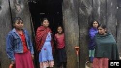 Una familia rural en Manzanillo, estado de Colima. Archivo.
