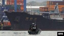 Ministro panameño: Ocultan armas en barco norcoreano