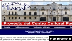 Editorial de Espacio Laical
