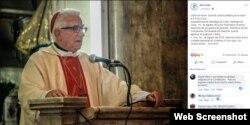 Mensaje en Facebook de Monseñor Dionisio García Ibáñez, Arzobispo de Santiago de Cuba