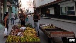 Carretilleros en Cuba