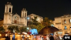 Procesión del Vía Crucis celebrada en La Habana. Archivo.