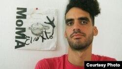El grafitero El Sexto. Archivo.