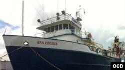 Envíos marítimos a Cuba