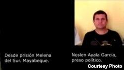 Noslén Ayala García, preso político de UNPACU, sancionado a 8 meses de prisión mientras espera un juicio desde hace 11 meses.