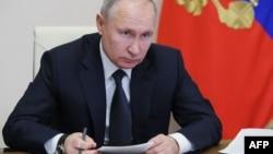 Vladímir Putin, presidente de la Federación Rusa
