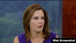 La cubanoamericana, Mercedes Schlapp, analista política y asesora de la campaña del presidente Donald Trump.