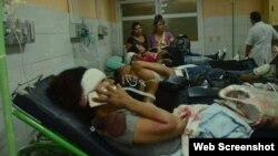 Accidente de tránsito en Sancti Spíritus provoca 30 lesionados el 28 de julio