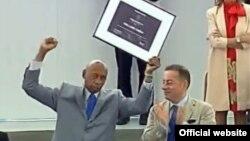 Guillermo Fariñas recibe el Premio Sajarov 2010