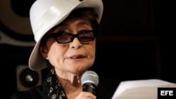 Yoko Ono, la viuda de John Lennon.