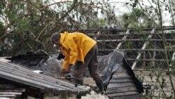 Muchos esperan el ciclón sin techos resistentes; la inmensa mayoría sin comida