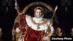 Napoleón por Jean Auguste Dominique Ingres (1780-1867)