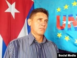 Jorge Cervantes, miembro de la UNPACU. (Social media)