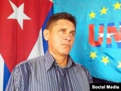El opositor Jorge Cervantes, coordinador de la UNPACU.