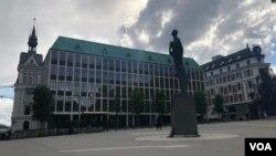 En la foto, el Ministerio de Relaciones Exteriores de Noruega. El lugar de las negociaciones se mantiene en secreto.