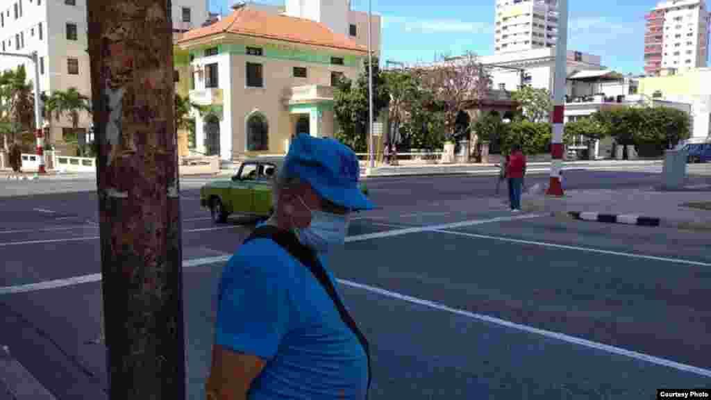 Cubanos usando mascarilla /Foto Facebook de Pedro Luis Garcia