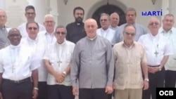 Los obispos de la Iglesia Católica en Cuba