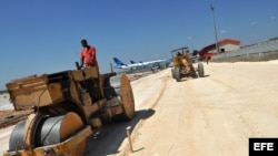 El aeropuerto Juan Gualberto Gómez de Varadero, uno de los más importantes polos turísticos de Cuba, fue ampliado en 2011.