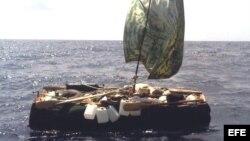 Los guardacostas de EEUU han encontrado balsas vacías en el estrecho de la Florida. Archivo.