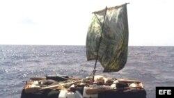 Los guardacostas de EE.UU. han encontrado balsas vacías en el estrecho de la Florida.
