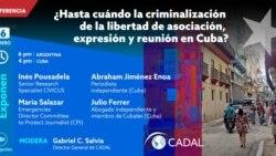 CADAL anuncia evento online sobre violaciones a libertad de expresión en Cuba