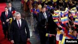 Sólo cuatro mandatarios acompañaron a Maduro en su investidura