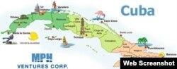 La minera canadiense MPH Ventures se aventura en el negocio de los viajes a Cuba. (FB)