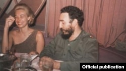 Lisa Howard y Fidel Castro. 1963. | National Security Archive Lisa Howard Collection