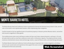 Proyecto Hotel Monte Barreto