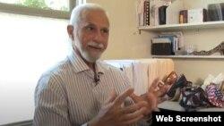 Alfredo Felipe Fuentes, expreso político cubano, hoy radicado en Estados Unidos.