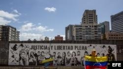 MANIFESTACIÓN PARA PEDIR LIBERACIÓN DE DETENIDOS EN PROTESTAS CONTRA EL GOBIERNO
