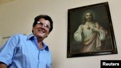 Oswaldo Payá Sardiñas (1952-2012), líder del Movimiento Cristiano Liberación (MCL) en una foto de archivo, La Habana, 2010. REUTERS | Claudia Daut.