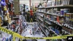 Centros comerciales y tiendas experimentaron daños materiales tras el terremoto.