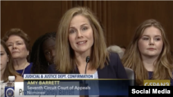 Jueza Amy Coney Barrett