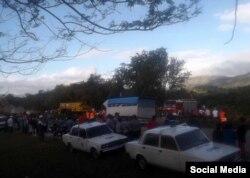 Accidente en Santiago de Cuba.