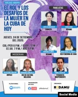 Derechos de la mujer a debate en Redamu