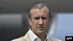 Tareck El Aissami, ministro de industria y ex vicepresidente de Venezuela