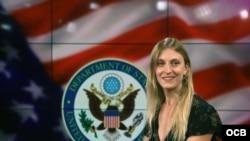 Subsecretaria Adjunta para Cuba y Venezuela visita Radio Televisión Martí