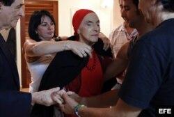 """""""Fidelidad a la revolución"""": La coreógrafa y bailarina cubana Alicia Alonso"""